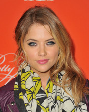 Ashley Benson looked smoldering with her messy-glam side sweep and heavy eye makeup during the 'Pretty Little Liars' screening.