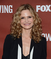 Kyra Sedgwick's curls were thick, voluminous, and totally envy worthy!