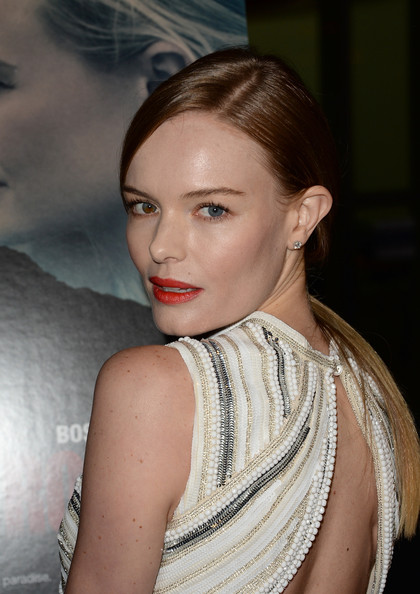 More Pics of Kate Bosworth Bright Lipstick (1 of 82) - Bright Lipstick Lookbook - StyleBistro