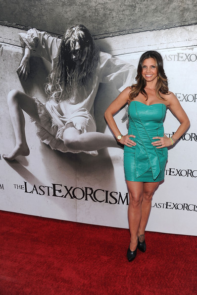 More Pics of Charisma Carpenter Gold Chronograph Watch (1 of 7) - Charisma Carpenter Lookbook - StyleBistro