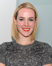 Jena Malone opted for a simple bob when she attended the screening of 'The Wait.'