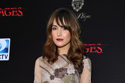 Rose Byrne Shines in Gio Diev Pumps