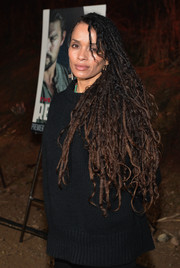 Lisa Bonet looked totally edgy with her super-long dreadlocks at the screening of 'The Red Road.'
