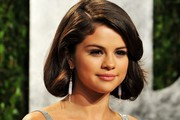 Selena Gomez's Faux Bob at the 2012 'Vanity Fair' Oscar Party