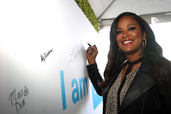 More Pics of Laila Ali Leather Jacket (3 of 6) - Outerwear Lookbook - StyleBistro [design,smile,adaptation,event,gesture,tourism,come together at we day california,california,selena gomez,demi lovato,alicia keys,laila ali,miss piggy,young people changing the world,dj khaled,bryan cranston]