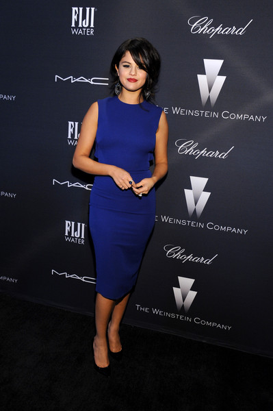Selena Gomez Cocktail Dress
