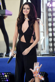 This black Roland Mouret cutout jumpsuit definitely put some sizzle in Selena Gomez's 'Today' show performance!