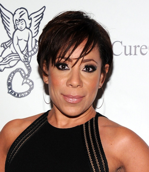 Selenis Leyva Messy Cut [gabrielle,arrivals,selenis leyva,hair,hairstyle,face,eyebrow,shoulder,chin,black hair,bob cut,lip,joint,new york city,millenial ball 3.0,angel foundation for cancer research,angel foundation for cancer research]