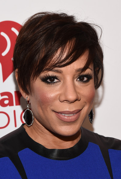 Selenis Leyva Short Cut With Bangs [hair,face,hairstyle,eyebrow,chin,forehead,bangs,lip,black hair,pixie cut,selenis leyva,iheartradio fiesta latina,sprint - backstage,inglewood,california,iheartradio,sprint,the forum,festival]