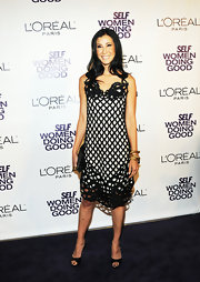 Lisa Ling dazzled at Self Magazine's 2011 Women Doing Good Awards in a pair of classy peep-toe pumps.