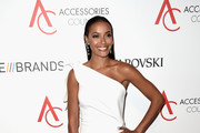 Selita Ebanks One Shoulder Dress