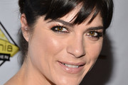 Selma Blair Braided Updo