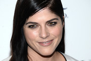 Selma Blair Long Side Part