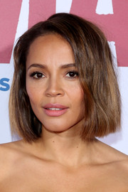 Carmen Ejogo attended the 'Selma' New York premiere wearing her hair in a stylish bob.