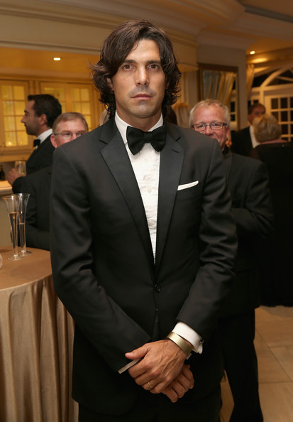 Nacho Figueras looked flawless in his handsome black tuxedo at the Sentebale Gala Dinner.