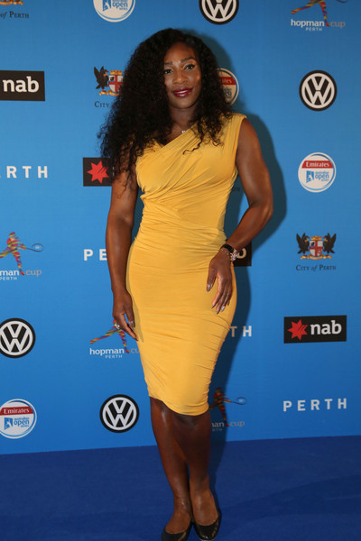 Serena Williams Form-Fitting Dress