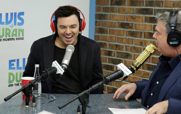 Seth MacFarlane Visits a Radio Morning Show