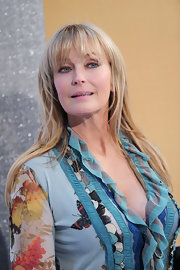 Bo Derek was an ageless beauty with her long straight cut and bangs.