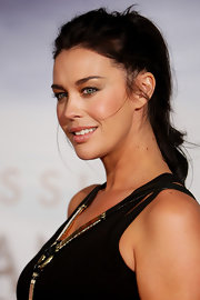 Megan Gale exuded a messy-glam vibe with this tousled ponytail at the 'Sex and the City 2' Sydney premiere.