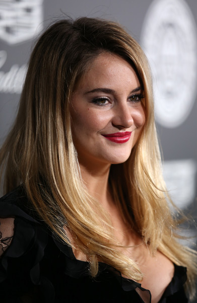 Shailene Woodley Layered Cut