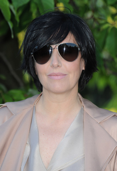 Sharleen Spiteri Layered Razor Cut