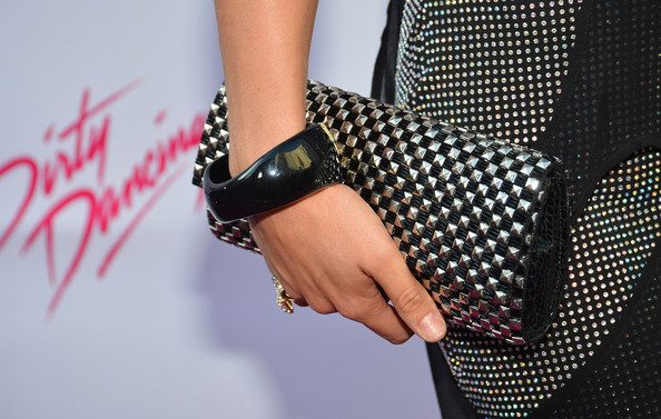 Sharna Burgess Studded Clutch