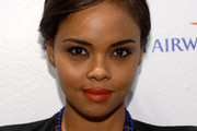 Sharon Leal Short Side Part