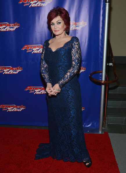 Sharon Osbourne Evening Dress