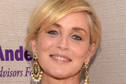 Sharon Stone Gemstone Chandelier Earrings