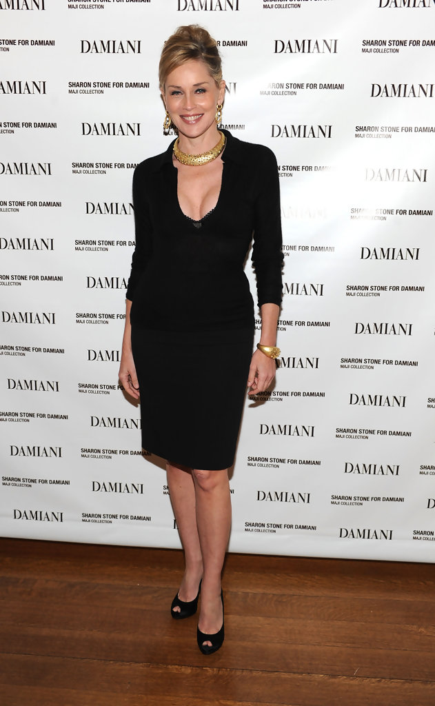 Sharon Stone Platform Pumps Sharon Stone Shoes Looks