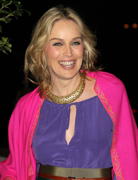 Sharon Stone Bronze Statement Necklace