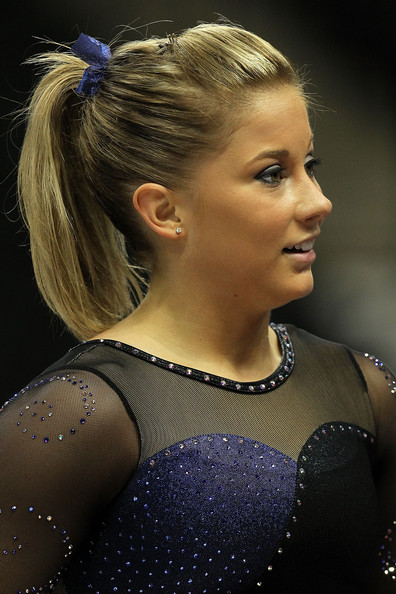 Shawn Johnson Ponytail
