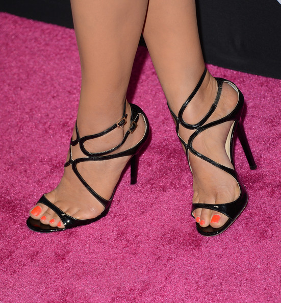 Shay Mitchell Strappy Sandals