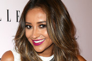 Shay Mitchell Silver Statement Necklace