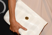 Shohreh Aghdashloo Leather Clutch