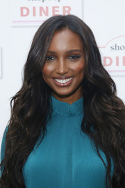 Jasmine Tookes looked divine with her long wavy 'do at the Shopbop Diner.
