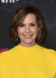 Embeth Davidtz styled her hair into a slightly wavy bob for the 'Ray Donovan' season 4 FYC event.