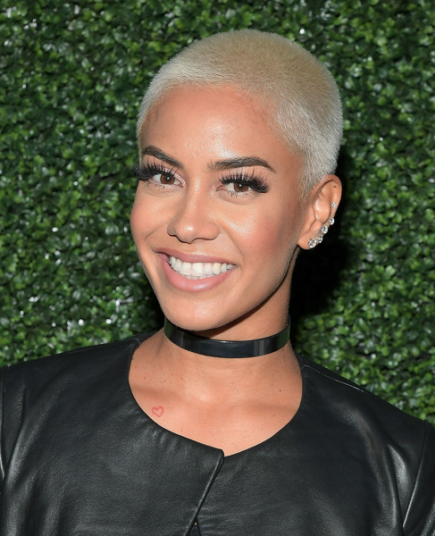 Sibley Scoles Buzzcut [hair,face,eyebrow,hairstyle,forehead,lip,beauty,chin,blond,black hair,sibley scoles,launch dinner,tv personality,west hollywood,california,ted baker london spring,the chamberlain]