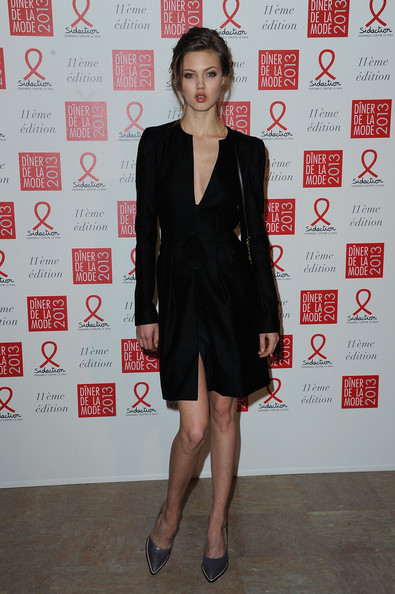 More Pics of Lindsey Wixson Little Black Dress (1 of 1) - Lindsey Wixson Lookbook - StyleBistro