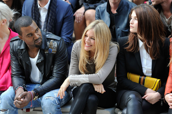 Burberry Spring Summer 2012 Womenswear Show - Front Row