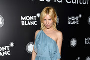 Sienna Miller One Shoulder Dress