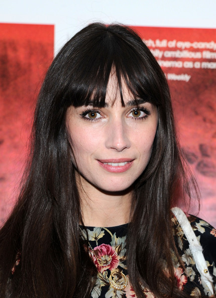More Pics of Rebecca Dayan Long Straight Cut with Bangs (1 of 3) - Long Straight Cut with Bangs Lookbook - StyleBistro