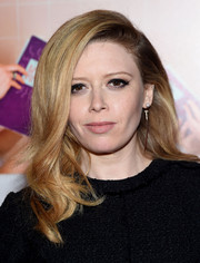 Natasha Lyonne styled her hair with wavy ends for the New York premiere of 'Sisters.'