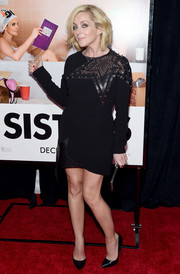 Jane Krakowski was rocker-glam at the 'Sisters' New York premiere in a little black dress with studded star detailing.