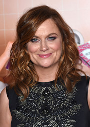 Amy Poehler looked fabulous with her bouncy curls at the New York premiere of 'Sisters.'