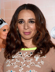 Maya Rudolph rocked boho waves at the New York premiere of 'Sisters.'