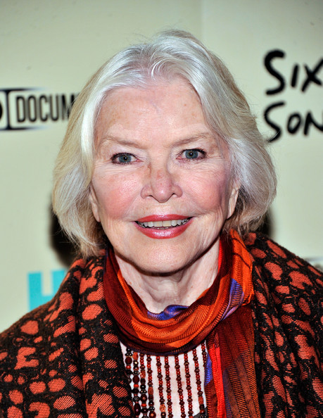 Ellen Burstyn wore her hair in a simple bob at the premiere of 'Six by Sondheim.'