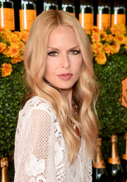 Rachel Zoe looked lovely with her boho waves at the Veuve Clicquot Polo Classic.