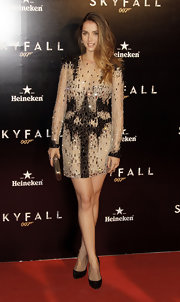 Ana de Armas's sequined cocktail dress was a showstopper at the Madrid premiere of 'Skyfall.'