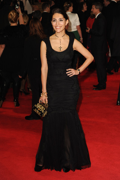 More Pics of Caterina Murino Mermaid Gown (1 of 2) - Caterina Murino Lookbook - StyleBistro
